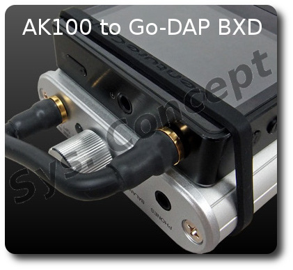 AK100 to Go-DAP BXD 4.2cm Center to Center