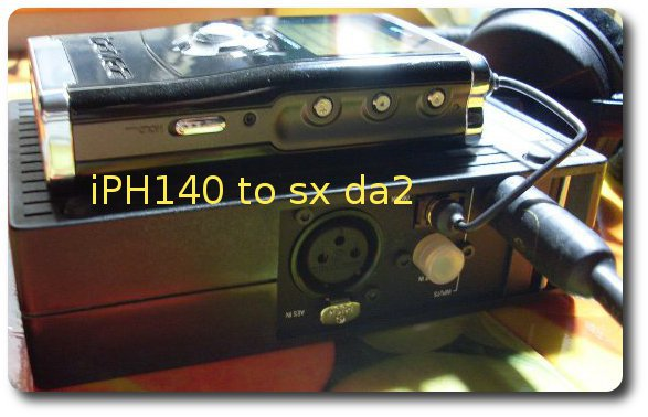iHP140 to SX DA2